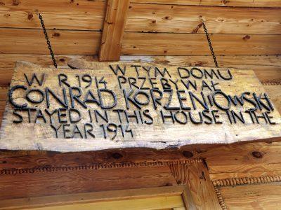 joseph conrad konstantynówka zakopane
